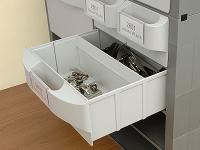 Separator in drawer