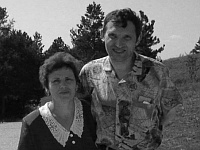 Jaroslav Pokorný with his wife