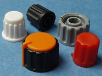 Knobs for potentiometers
