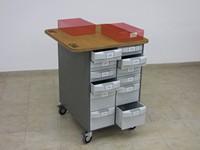 Montážní vozík 1 (oboustranný) – VariBOX